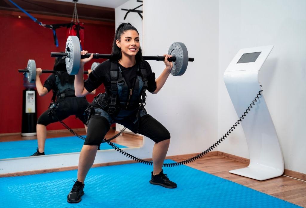 التحفيز العضلي الكهربائي