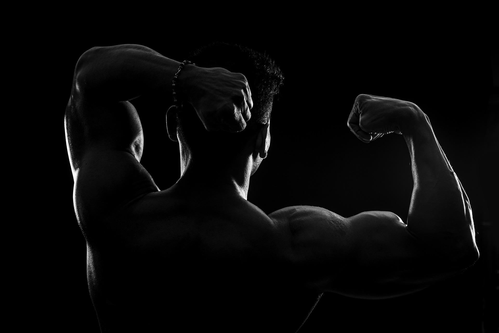 تنشيف العضلات
